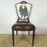 Обитые алюминиевые стулы столовой для банкета трактира гостиницы (JY-R76)
