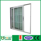 Окно застекленное двойником алюминиевое сползая с стандартом Ce