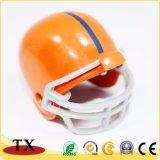 Chaîne principale en alliage de zinc en métal de forme de casque de qualité pour le souvenir