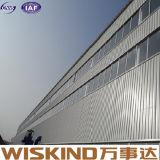 Пакгауз здания большого полуфабрикат быстро агрегата стальной
