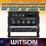 Lettore DVD di multimedia dell'automobile di Witson Windows per Toyota Landcruiser LC200 2016