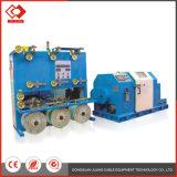 3.7kw Draad die van de Motor van de rotatie de Verticale Dubbele Elektrische Vastlopende Machine verdraaien