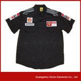 Длинняя втулка участвуя в гонке рубашка команды экипажа ямы с вашими логосами (S27)