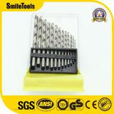 Torsión de HSS brocas de perforación Metal Set Ideal para la perforación en acero dulce