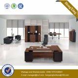 Muebles de oficinas modernos de madera del vector ejecutivo del MDF de la melamina (HX-TN191)