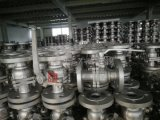 Kohlenstoffstahl Wcb hartes Kugelventil des Dichtungs-Flansch-Enden-2PC