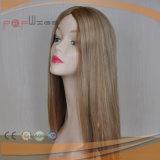 De lichte Hoogste Pruik van de Zijde van het Menselijke Haar van de Kleur Lange (pPG-l-0486)