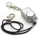 Dispositivo de alarma de alerta Anti-Rape fuerte ataque de pánico Llavero Alarma de seguridad personal de seguridad