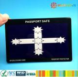 Сбывание анти- рубя RFID Америка горячее преграждая карточку