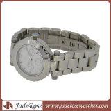 Relógio de pulso de quartzo de aço Lady assistir