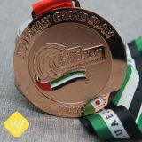 Sports personnalisée exécutant Award de l'émail de soccer de la Médaille de Taekwondo OEM de métal