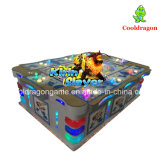 Máquina de juego de juego de la pesca de la arcada del vector de juego de los pescados de Kirin del fuego