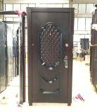 Qualité extérieure ou porte en acier intérieure pour la salle de bains