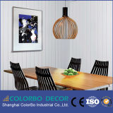 El panel de pared interior 3D decorativo decoración de paredes Panel decorativo de MDF