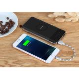 côté sans fil mobile portatif de pouvoir du chargeur 10000mAh sans fil