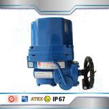 Actuador eléctrico del diseño compacto