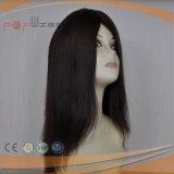 Peluca natural del frente del cordón del color del pelo brasileño