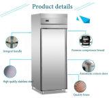 Réfrigérateur de luxe d'acier inoxydable de Simple-Porte
