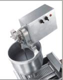 Automatischer elektrischer Krapfen, der den Maschinen-Krapfen-Hersteller-Krapfen brät Maschine bildet