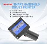 Imprimante de haute résolution traitée de code de jet d'encre de caisse d'emballage de carton