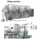 Frasco plástico 3 do animal de estimação em 1 maquinaria de enchimento de Monolock da água de engarrafamento para 18-18-6 24-24-8