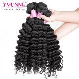 Yvonne 100% Malaysian Cabelo humano virgem de alta qualidade Remy Onda profunda de cabelo