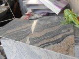 Juparana 마루 도와 또는 벽 도와 포장 도와를 위한 분홍색 Polished 또는 타올랐거나 갈린 화강암 석판