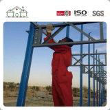 アフリカのEPSサンドイッチパネルのプレハブの軽い鋼鉄家