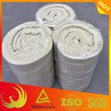 Водонепроницаемый базальтовой скалы шерсти одеяло для теплоизоляции трубопроводов