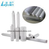 Il filato del filtrante pp della ferita della stringa del polipropilene/cartuccia del cotone per placca l'industria
