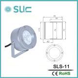 projector do diodo emissor de luz de 3W IP65 com relatório do Ce (SLS-11)