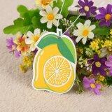 紙カード(YH-AF241)が付いているレモン芳香車の芳香剤のパッキング