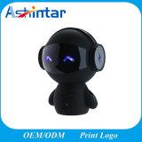 Altoparlante portatile di Bluetooth dell'altoparlante del robot senza fili di plastica del fumetto mini