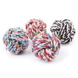 Bola accesoria del juguete del perro de la cuerda del algodón del animal doméstico al por mayor