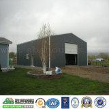 Diseño profesional de bajo coste prefabricados de estructura de acero de construcción del taller