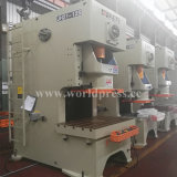 Ouvrir Type fixe Pad Machine pression 125tonne châssis en H Double presse mécanique de la machine de manivelle