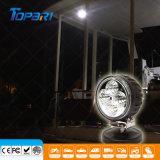 12W LED redondos para Serviço Pesado Mini Farol auxiliar LED