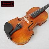 케이스를 가진 Handmade 바이올린 악기 바이올린