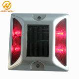 Ojo de Gato LED impermeable de aluminio reflectante Solar Road espárrago (JW-12D)