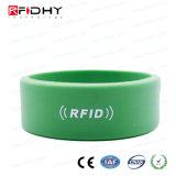 RFIDのシリコーンF08のリスト・ストラップの札