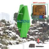 Vertikale Mittellinien-Wind-Turbine 600W 500W 400W 12V 24V 48V mit MPPT Regler