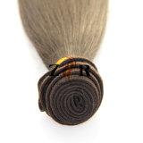 100%インドのまっすぐなOmbreの毛のバージンのRemyの人間の毛髪のよこ糸
