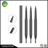 Obtenir à renivellement de bons 3 couleurs sourcil durable crayon cosmétique avec le balai