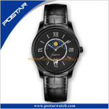 Mouvement quartz Miyota Phase de lune Men's Watch