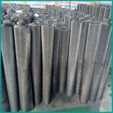 Maglia del tessuto del nero del fornitore della Cina