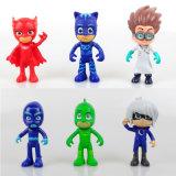 PJはCatboy Owlette Gekkoロミオ夜Ninjaルナの女の子図おもちゃを覆う