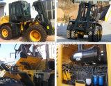 Heiße Verkauf Ltma 10 Tonne ATV 4WD aller Gelände-Gabelstapler