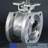 Geschmiedeter Stahltyp Kugelventil der Oblate-A105