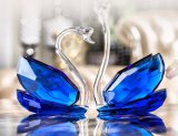 2017 kleurt het Nieuwe Verschillende Ontwerp Zwaan van het Paar van het Kristal van de Goederen van de Verkoop van de Fabriek van de Bestseller direct de Concurrerende voor de Gift van het Huwelijk