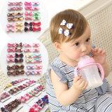卸し売りBowknotのヘアークリップのヘアピン方法赤ん坊の毛のアクセサリの毛の装飾